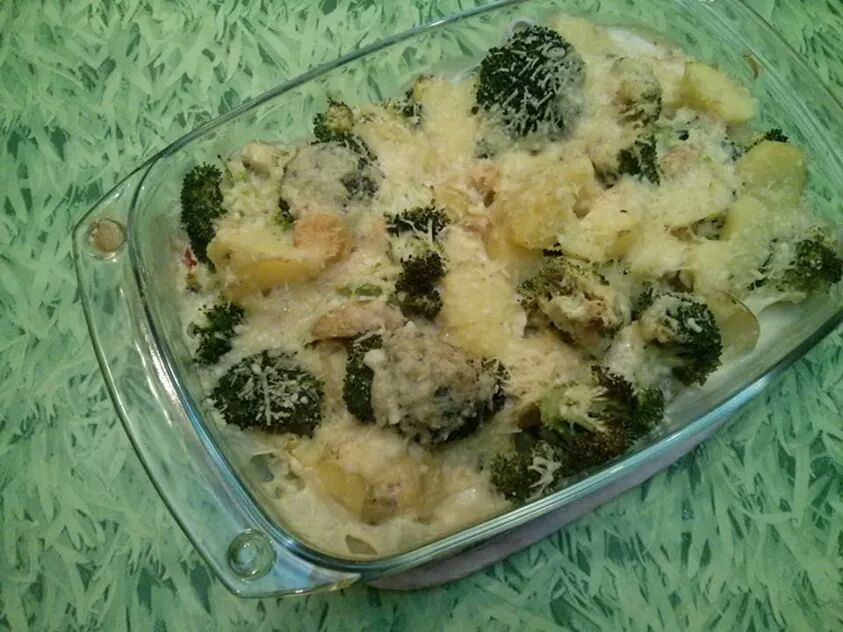 Kartoffel Brokkoli Auflauf