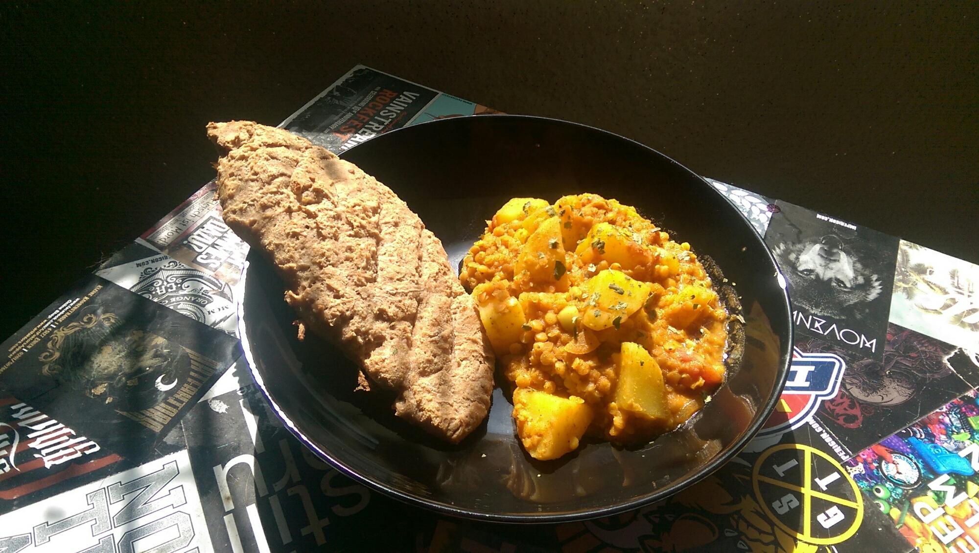 Kartoffel Linsen Curry